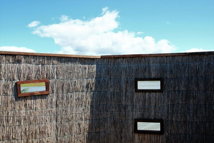 Architecture Building Exterior Built Structure Close-up Cloud - Sky Day Mood Nature No People Outdoors Roof Sky Wood - Material