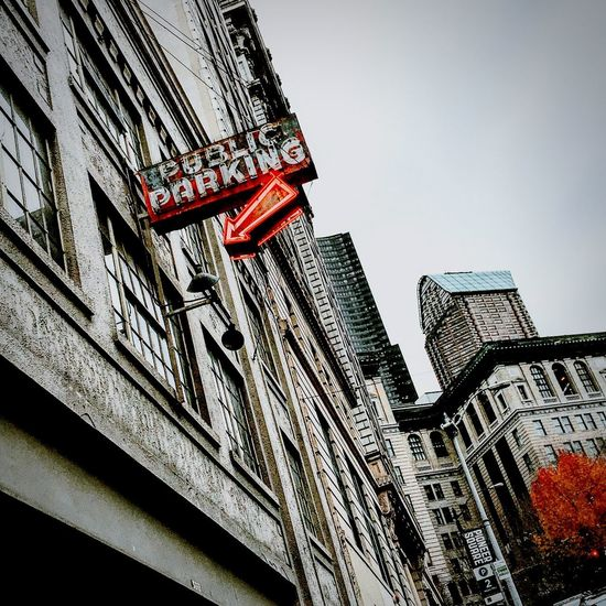 The Architect - 2017 EyeEm Awards Architecture Building Exterior City Red Washington State Veiwpoint Of A Homeless Seattle Girl Seattle, Washington Downtown District Architecture