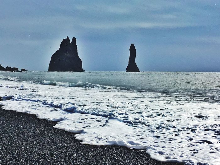 Atlantic Ocean Coast Needles Cliffs Iceland116 Iceland_collection