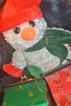 Art And Craft Celebration Christmas Close-up Creativity Decoration Holiday Human Representation Indoors  Multi Colored No People Red Representation Snow Still Life Stuffed Toy Winter
