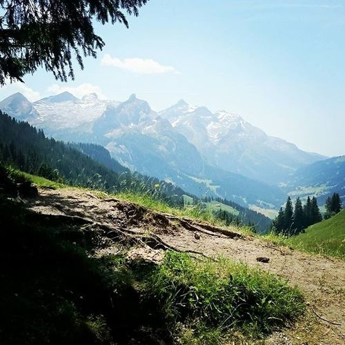 Switzerland Swissalps Gstaad Swiss Alps Mountain