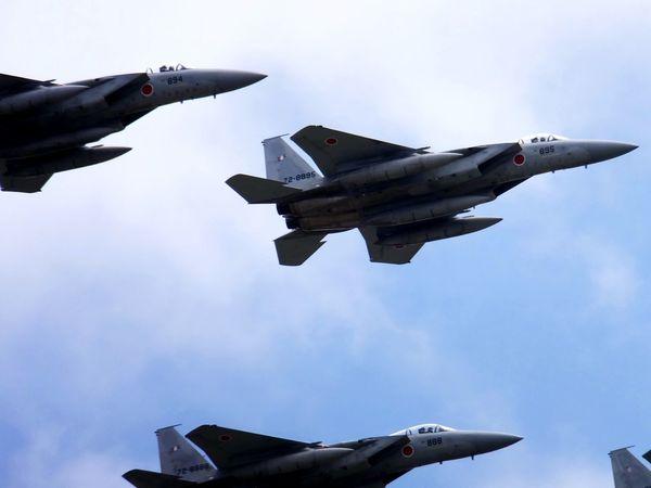 Airplane Air Show Chitose F-15
