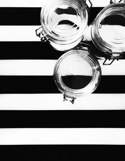 Design Close-up Black And White Photography Glass - Material Kitchen Lines
