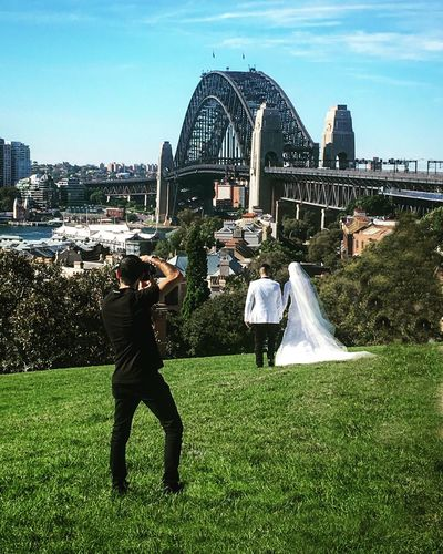 Great day for a wedding!🍸🍷🍾👫👰🏼 Wedding Weddings Around The World SydneyHarbourBridge Sydney Sydney, Australia Australia Lifestyle EyeEm Best Shots Eye4photography  Urbanphotography Cityscapes City View  Travel Destinations Bridge Eye For Photography EyeEmBestPics Bride EyeEm Best Shots - Nature Check This Out Getting Married Cheese! Halfcenturytraveller Showcase April