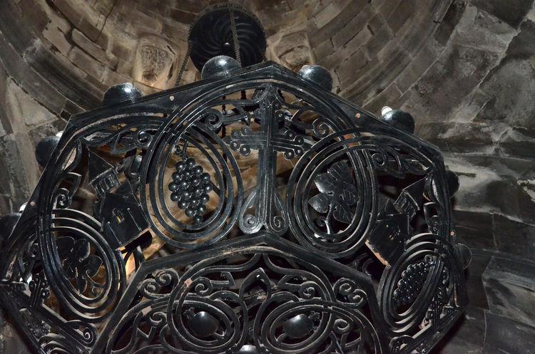 Armenia Geghard Geghard Monastery Spirituality Architecture Chandelier Close-up Day Indoors  No People Oriental Orthodox Church Religion Travel Destinations W-armenien
