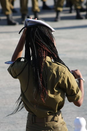 Army Army Life Day Girl Idf Soldier Unrecognizable Person