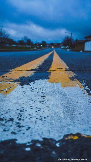 Empty Road Road