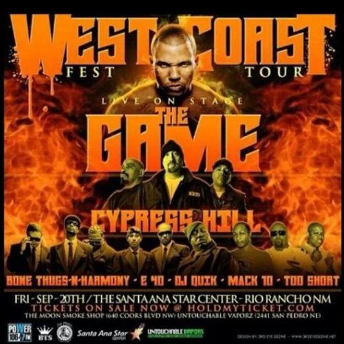 WestCoast TheGame Cypresshill