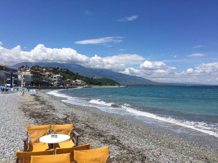 Platamonas is ready for the season. Greece Platamonas Holidays Relaxing Sea And Sky Enjoying Life The Great Outdoors - 2016 EyeEm Awards