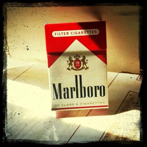 Smoking Cigarette Time Marlboro