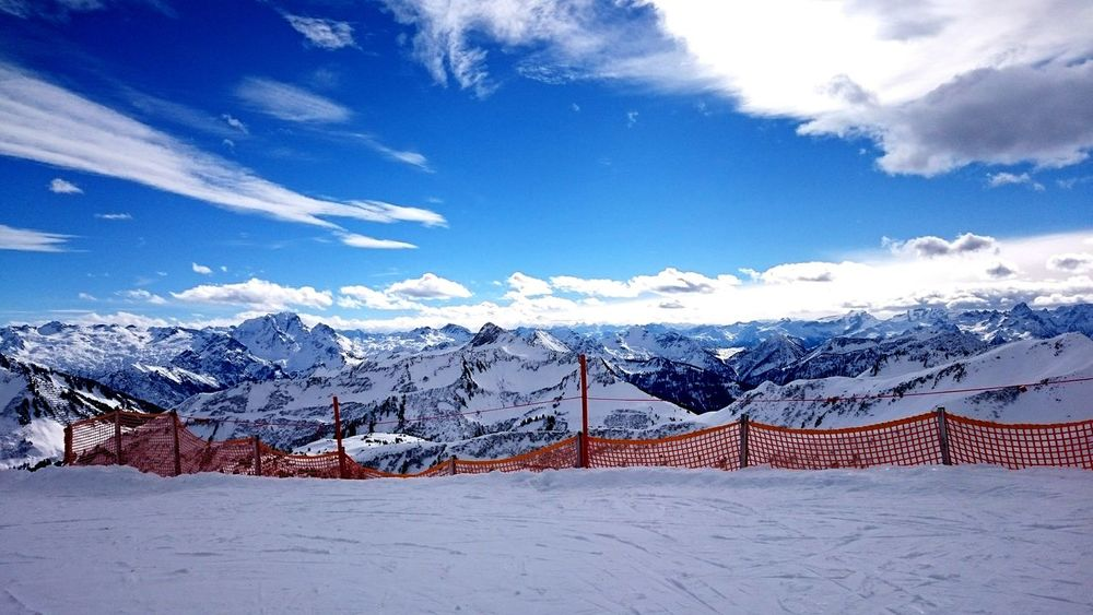 Snow Mountain Landscape Blue Mountain Range Sky Winter Outdoors Cloud - Sky Scenics Cold Temperature No People Day