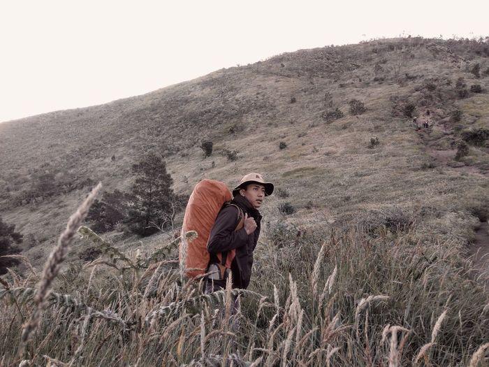 Climbing mount merbabu selo route