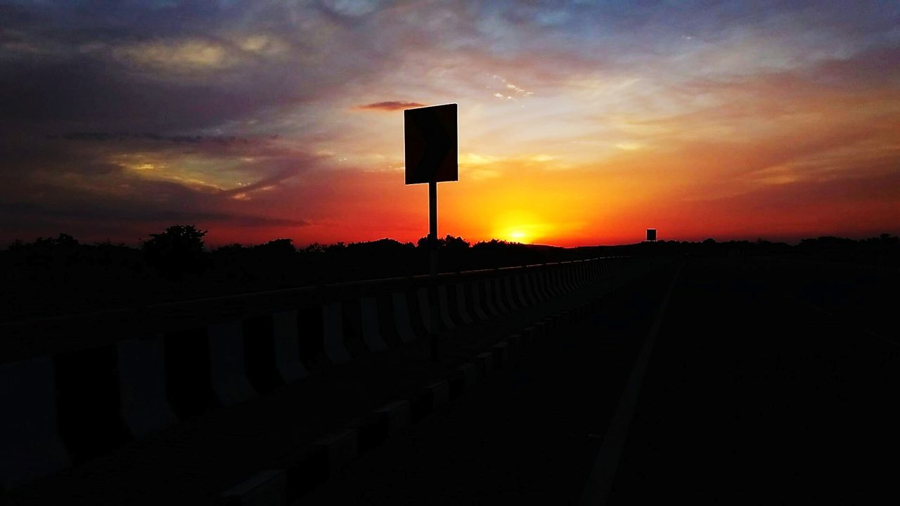 sunset, sky, silhouette, cloud - sky, nature, outdoors, tranquil scene, no people, scenics, beauty in nature, day