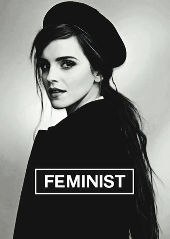 Heforshe If Not Now When..if Not I Who? Emma Watson Onu Feminist Potterhead
