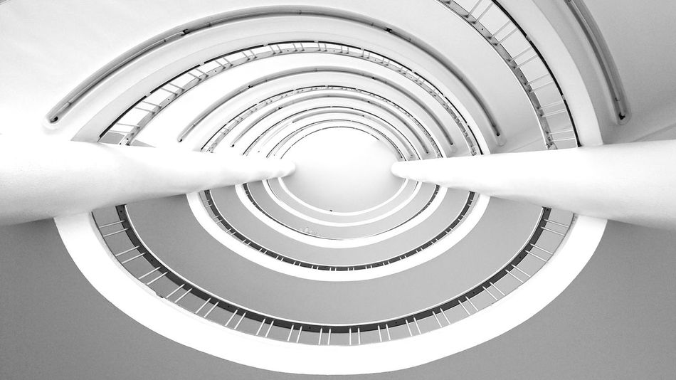 Frankfurt Series. Open Edit Lookingup Spiral Staircase Minimalism Your Design Story Winners 🎁
