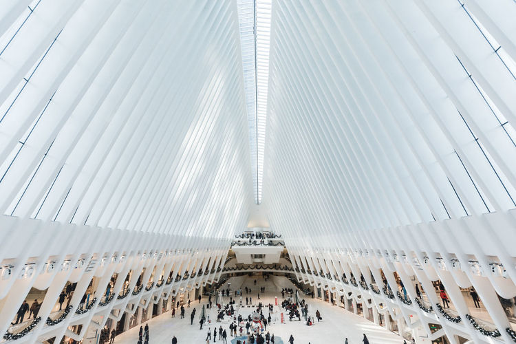 Futura The Oculus World Trade Center World Trade Center New York Architecture Santiago Calatrava City Subway Mta Commute White Minimalism Minimalist Architecture Building Travel Lifestyles Tourism Ceiling Travel Destinations