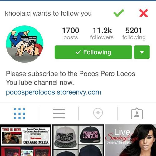 I want to thank @khoolaid my new Homegirl for following me back on Instagram ❤🎤👌 Thanks  @khoolaid ✌💯 Muchlove SUPPORT ❤ April8 2015🎁🎉