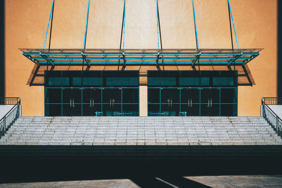 My school sport place Architecture Building Exterior Built Structure Day No People Outdoors Phototography 建筑摄影