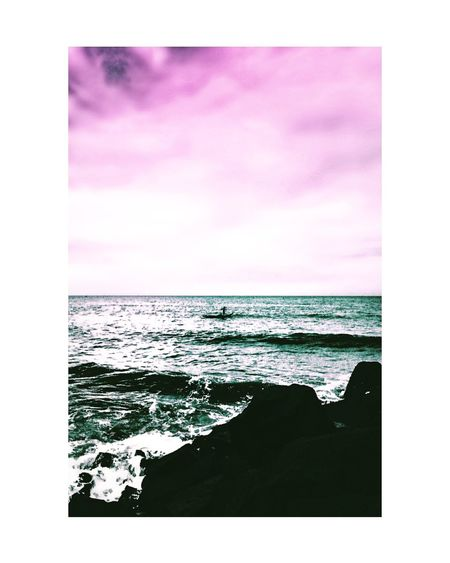 Sea Beach Horizon Over Water Water Cloud - Sky Wave Scenics Sky Nature Sand No People Beauty In Nature Day Television Industry Outdoors Pixelated Indiaclicks Indianphotography Streetsofindia👣 India_gram Moodygrams Cityscapes Beachphotography Beachlife Pondicherrydiaries