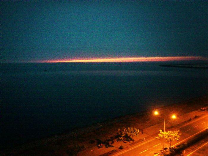 Sunset Roads Blacksea