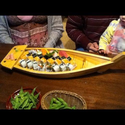 Yoshi sushi boat