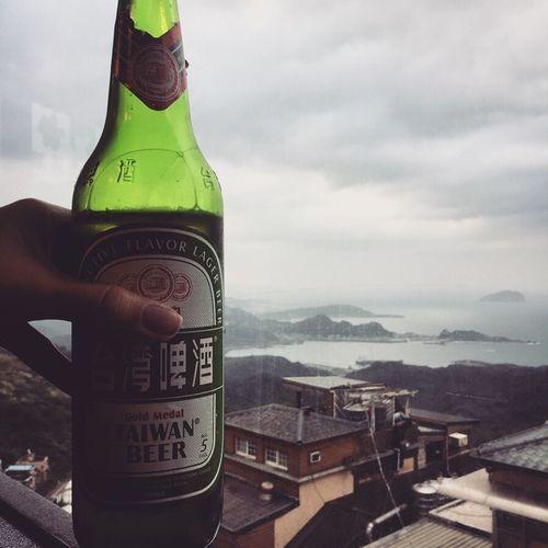 Beer Sightseeing Taiwan View Jiufen Ocean Spirited Away Village