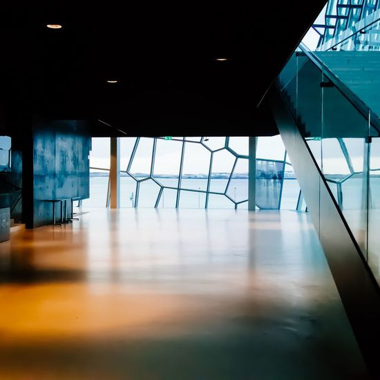 Geometry Reflection Urban Geometryurban Light Light And Shadow Minimalism Minimalist Architecture Indoors  Flooring Empty Corridor Architecture No People Built Structure Modern Day