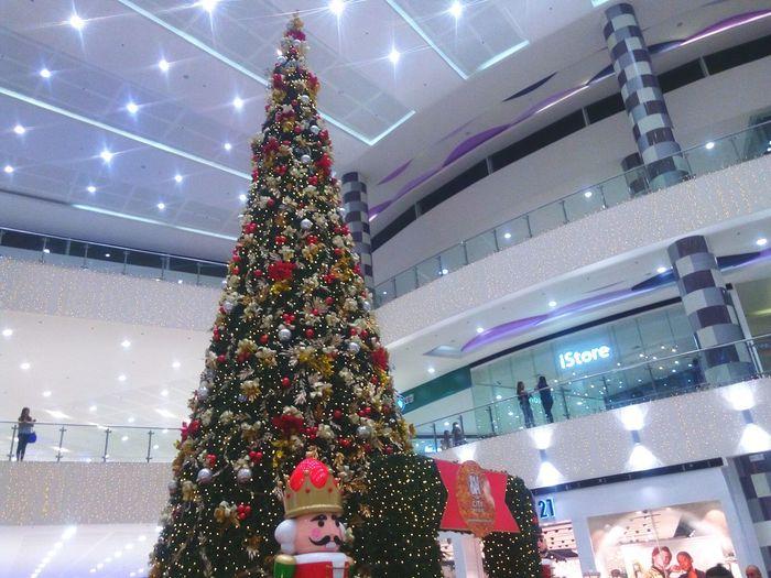 A Christmas Night... Christmas Tree Christmas Ornament Architecture Christmas Celebration Christmas Lights Tree Christmas Decoration Built Structure No People EyeEm Best Shots