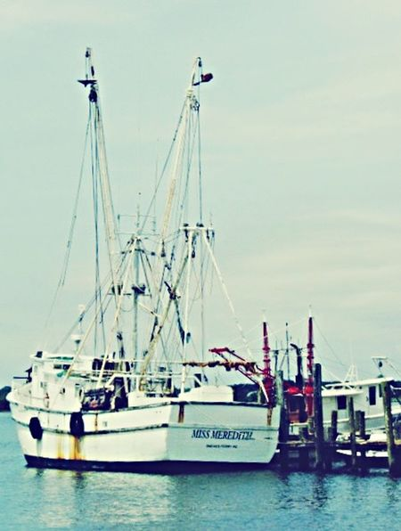 Shrimp Boat Outrigger Low Country