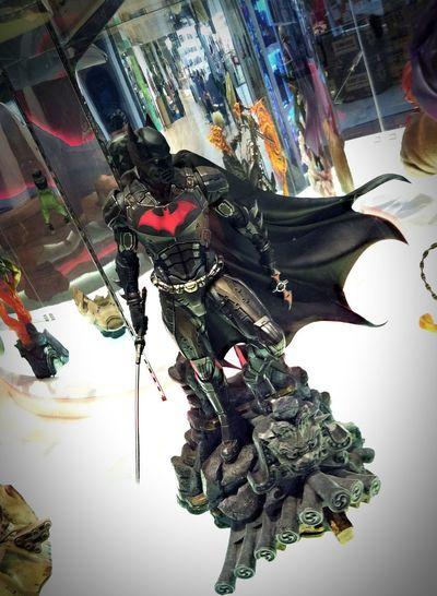 Batman Samurai My Favorite Place PLAMO Toy Store Showcase Plastic Model Batman