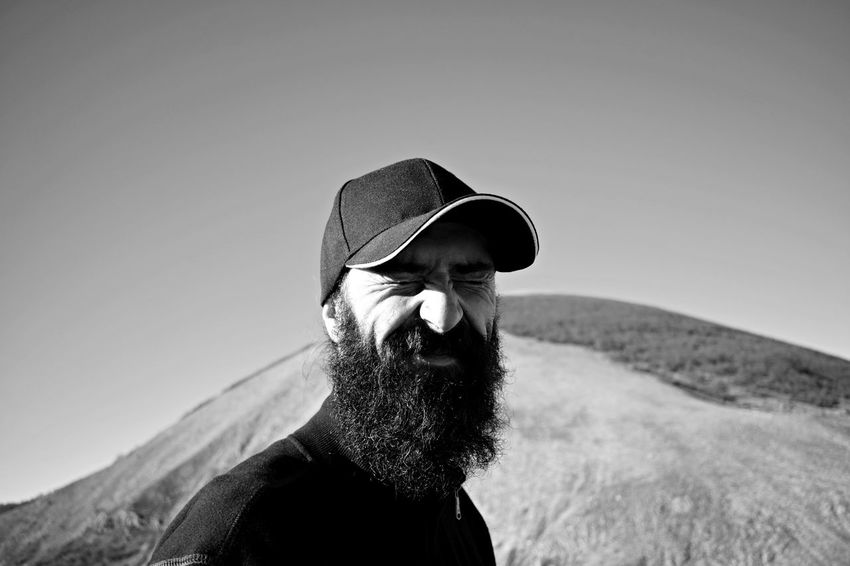 Shaman. Adult Adults Only Beard Bearded Beardman Birdman Black & White Close-up Day Friend Headshot Hiking Landscape One Man Only One Person One Senior Man Only Only Men Outdoor Life Outdoors People Real People Sky Uniqueness