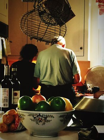 Collected Community what it's looks like to cook dinner together after 50 years