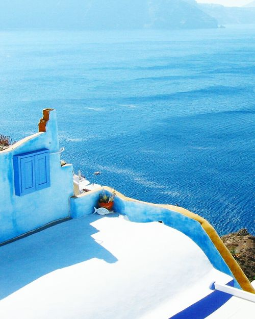Santorini Blue Water Sea Scenics Sky Vacations Day Nature World Art Places Travel Shoot Visual View Landscape Backgrounds Love Nature Sunset People Artistic Earth City