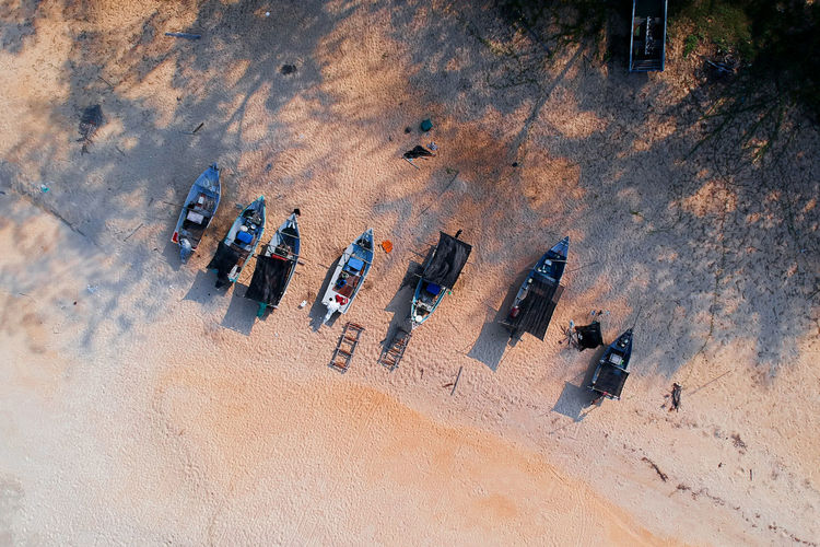 boat Aerial View Dronephotography Drone  Birds Eye View Drone Shot Drone View Landscape Boat Fisherman Boat Beach Sand High Angle View Horizon Over Water Beach Volleyball Shadow Focus On Shadow Long Shadow - Shadow