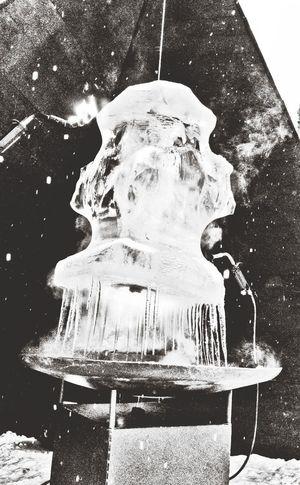 burning ice for Umea2014