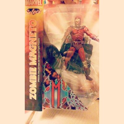omg freaking love this figure so awsome to get this for such a sweet deal! i love it and will cherish it forever!! cant wait to take pictures of this man Marvelvillans Zombies  Marvelselect Magneto Figureoftheday Figurecollecting Xmen Zombiemagneto Marvelzombie Magnetomonday Geekingout
