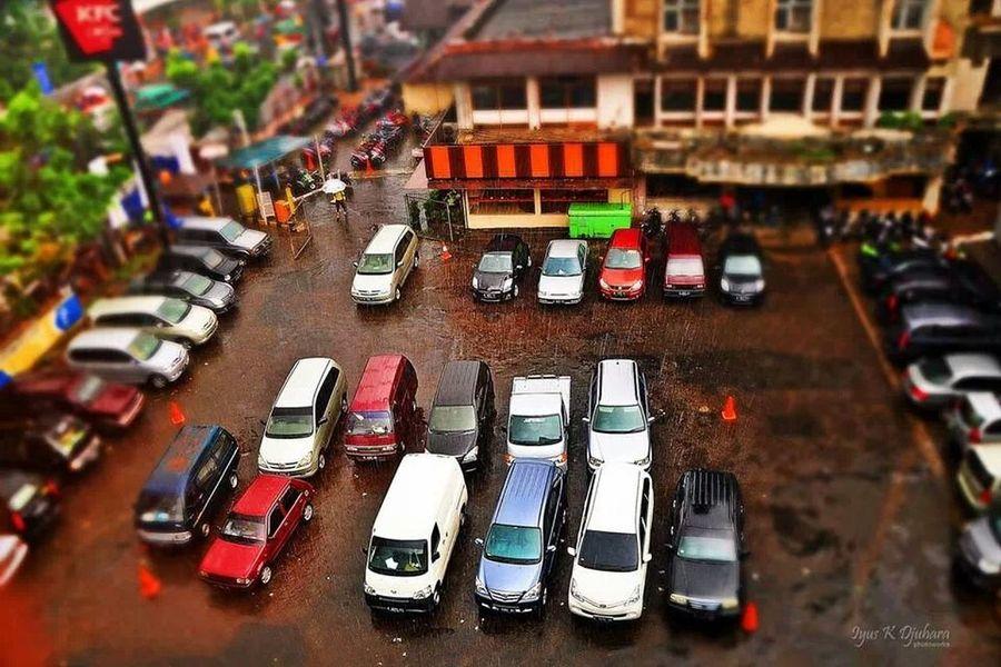 Tiltshift Tilt Shift Effect Instabandung Cars