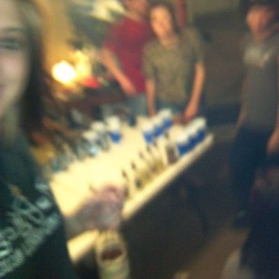 blurry but good night @g_r_i_t_s96 and jd head and Tylor I think I can't really tell