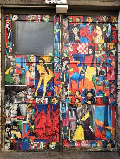 Berlin Mitte Purplesnail Berliner Ansichten Day Door Multi Colored No People Outdoors Szene Variation