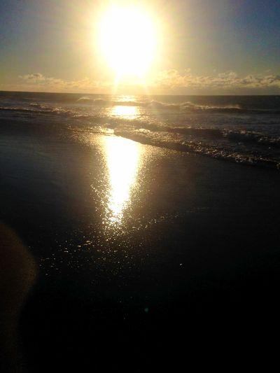 おはよう〜ございます? 晴れ〜 Beach