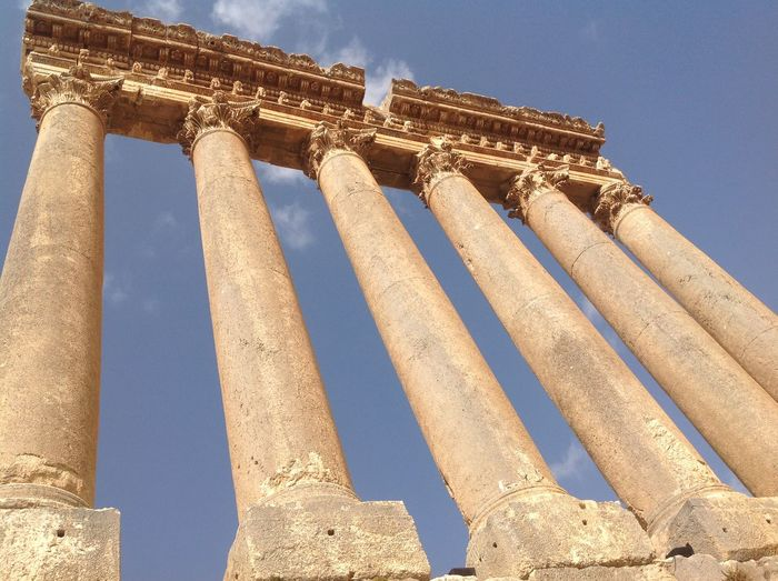 History The Past Low Angle View Architecture Architectural Column Built Structure Sky Ancient Travel Destinations Tourism Travel Nature Old Ruin No People Ancient Civilization Day City Building Exterior Old Archaeology Outdoors Ruined Colonnade