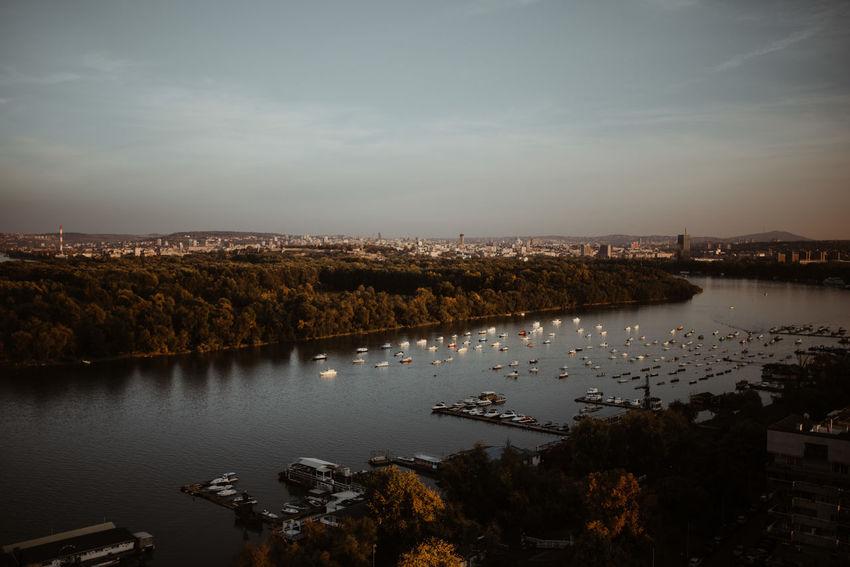Belgrade Belgrade,Serbia Budapest Danube Dunav Sava Danube And Sava Danube River Day Nature Outdoors Sky Water