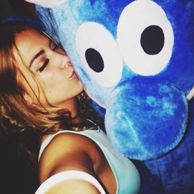 I fell in love with a smurf last night ❤️