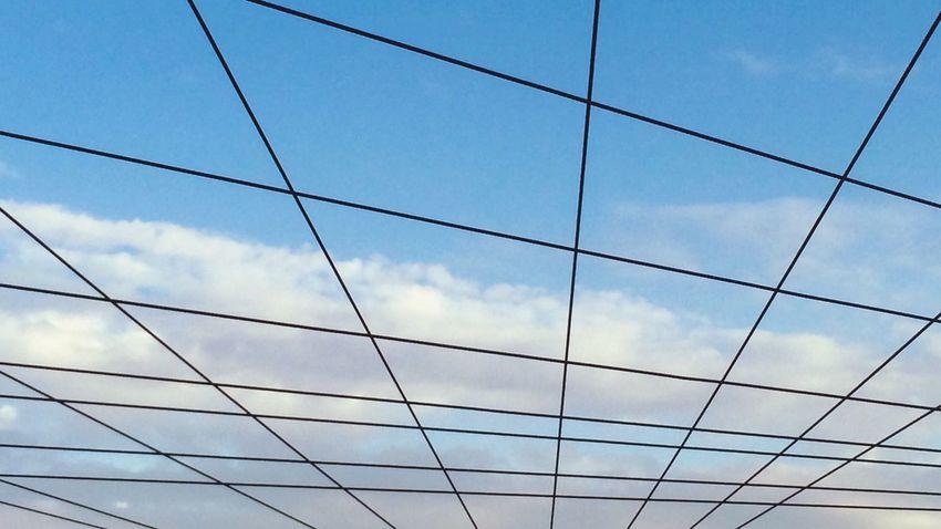Berlin SNAPSHOTS Clouds And Sky Gitter Lookingup Above Sky Mood Symmetry