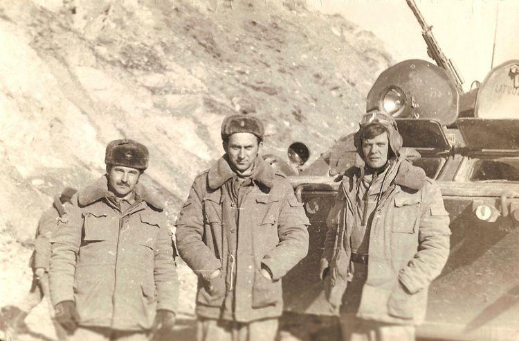 афганистан AFghanistan 1985 Millitary Udssr Black & White ОКСВА Mountain охранение СССР