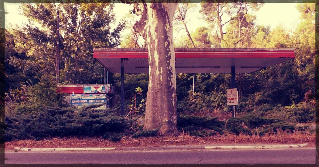 Abandoned Places Obsolete Decrepit No People Outdoors Station Service