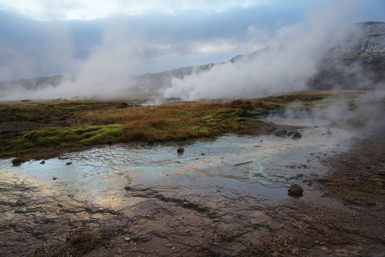 Geysir Hot Springs Beauty In Nature Geysir Geysir Hot Springs Hot Spring Nature Power In Nature Steam Strokkur Travel Water Water_collection