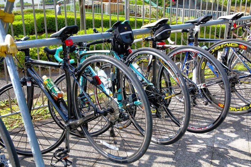 CyclingUnites Bicycle Mode Of Transport Wheel Outdoors No People Close-up Day ひとやすみ