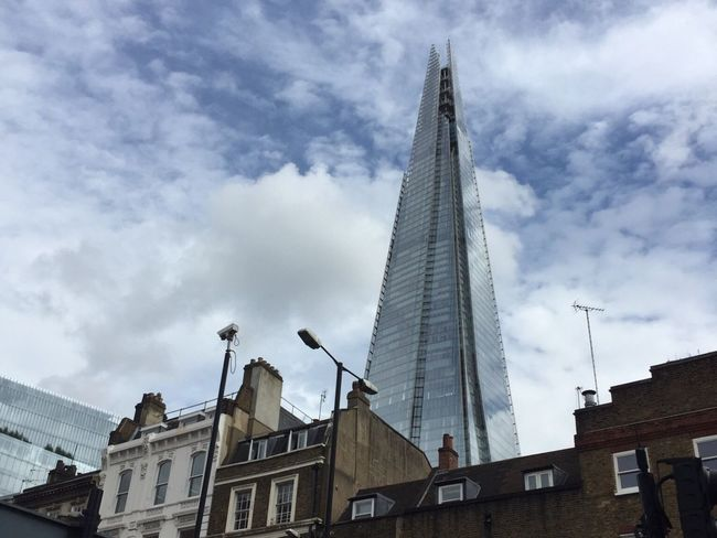Building Sky Urban City The Shard London The Architect - 2016 EyeEm Awards EyeEm LOST IN London