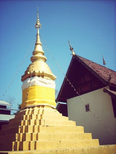 Architecture Belief In Thailand Pagoda Belief Buddhism Building Building Exterior Gold Colored Religion EyeEmNewHere